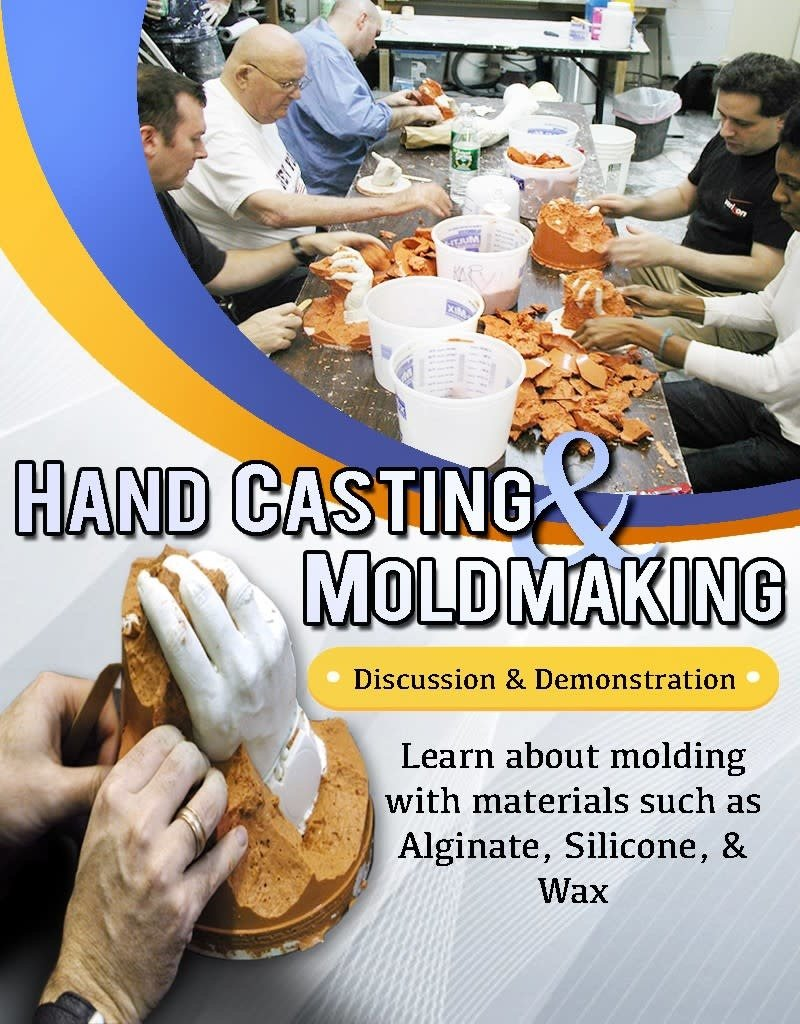 TCS Classes 200416 Hand Casting & Mold Making- April 16