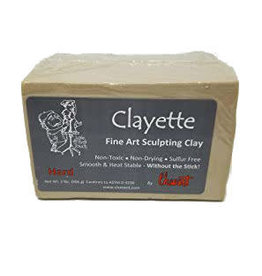 Chavant Clayette Cream Hard 2lb