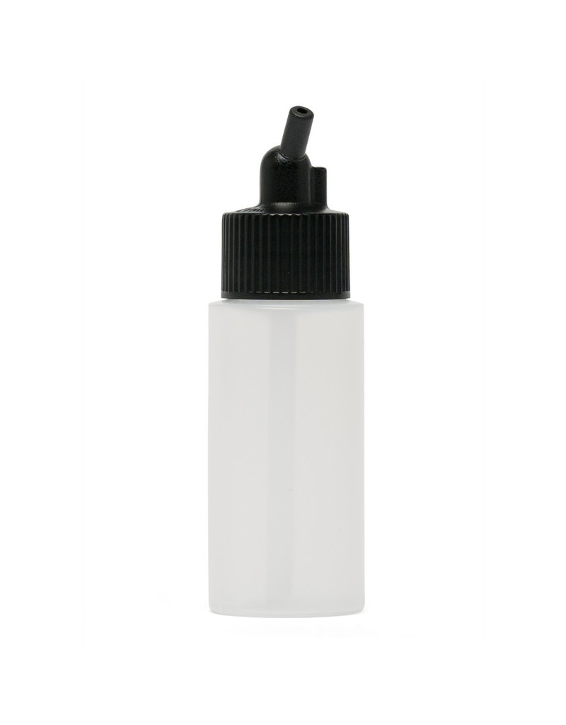 Iwata Big Mouth Airbrush Bottle 30 ml Cylinder With 20 mm Adaptor Cap
