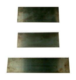 Sculpture House Heavy Steel Block Scrapers - Set of 3