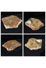 33lb Orange Translucent Alabaster 16x11x3 #554377