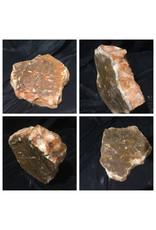 37lb Orange Translucent Alabaster 13x12x4 #554337