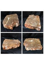 42lb Orange Translucent Alabaster 15x10x4 #554376