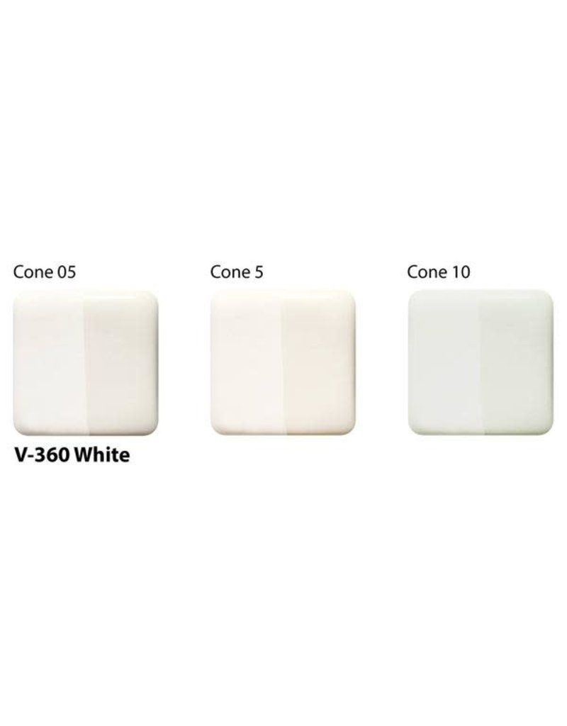 Amaco Velvet Underglaze Pint White V-360