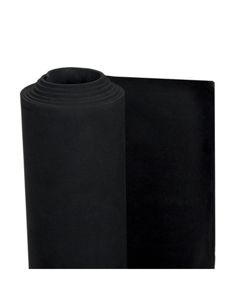 """EVA Foam Roll Black 2mmx36""""x60"""""""