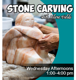 200700 Stone Carving Wednesday Afternoon Class July