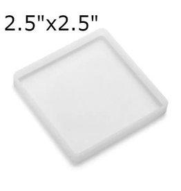 Just Sculpt 2.5in Square Silicone Mold
