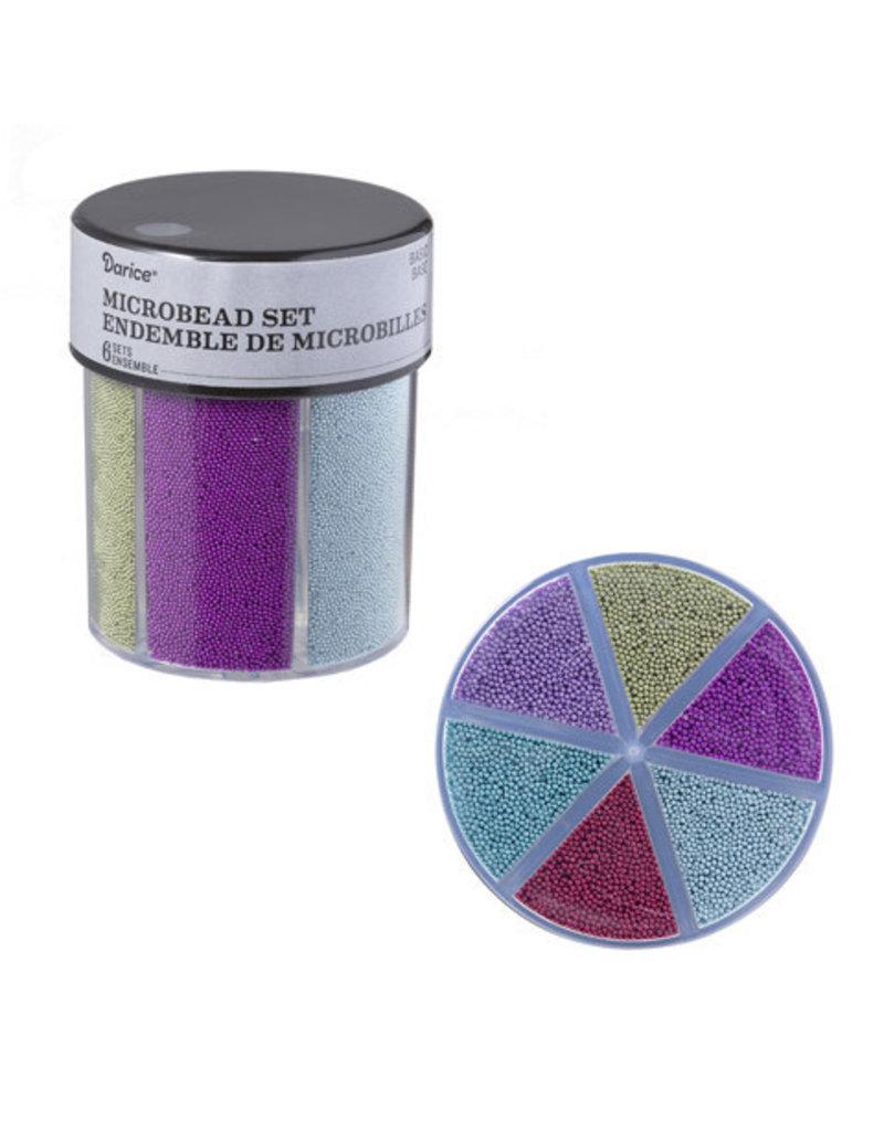 Darice 6-Color Microbeads Caddy Basics