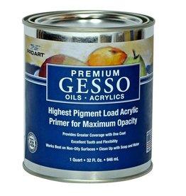 Premium White Acrylic Gesso 32oz