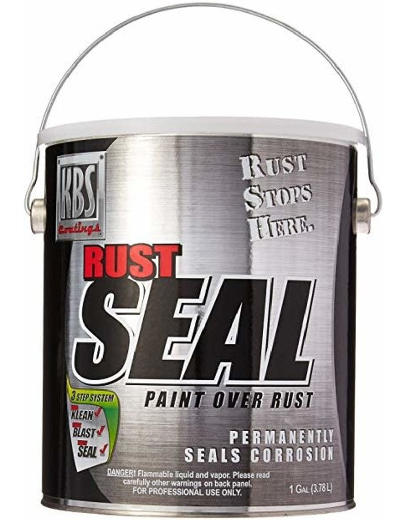 KBS Rust Sealer Gloss Black Gallon