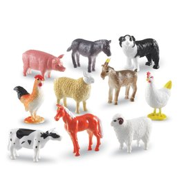 Learning Resources - Educational Insights Farm Creatures 60pc