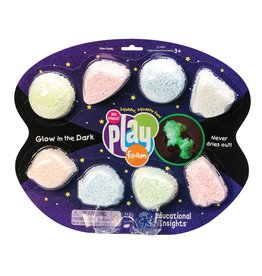 Learning Resources - Educational Insights Playfoam Glow in the Dark 8pack