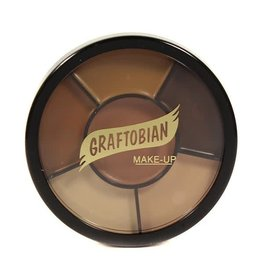 Graftobian Appliance RMG Wheel Derma Shades