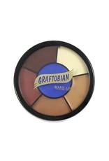 Graftobian Appliance RMG Wheel Bald Cap Shades