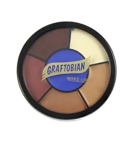 Graftobian Appliance RMG Wheel Bald Cap Shades