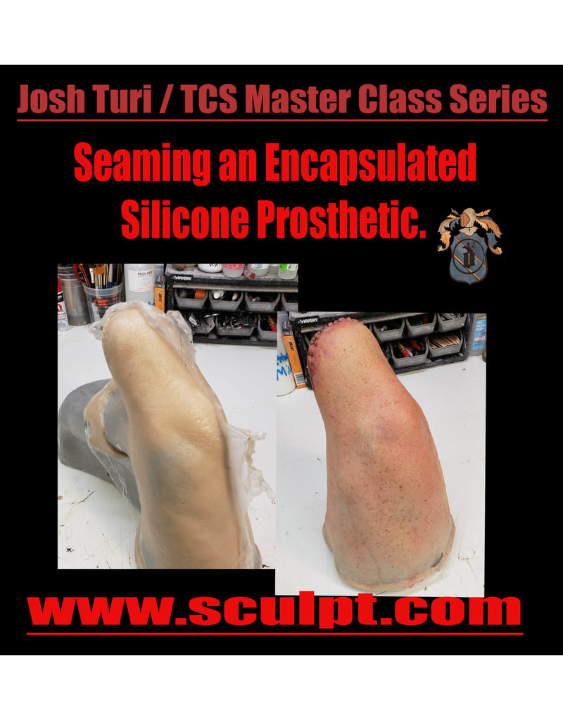 Designs To Deceive 200709 ONLINE CLASS Seaming an Encapsulated Silicone Prosthetic  July 9 6:30-8:30pm