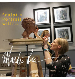 200801 FREE online workshop with Mardie Rees Sculpt a Portrait August 1