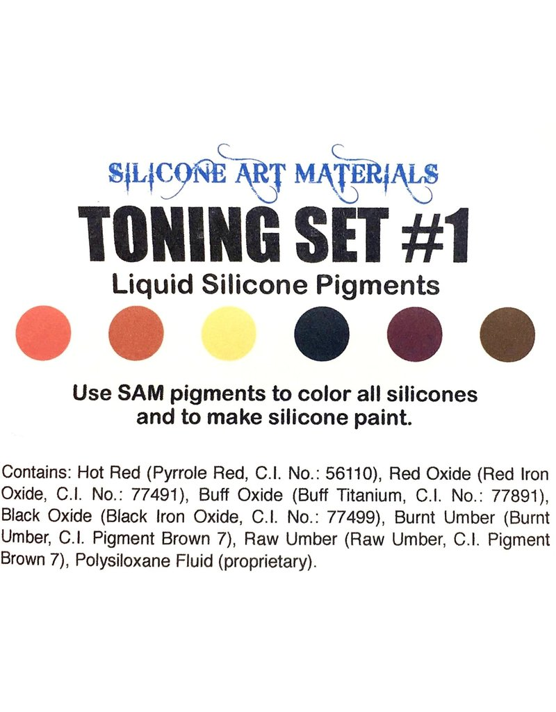 SAM Silicone Dispersion Toning 7ml Set