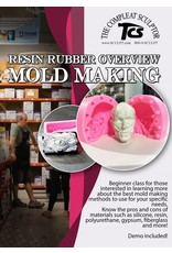 TCS Classes 200716 Online Resin Rubber Overview Mold Making- July 16th 6:30-8:30pm