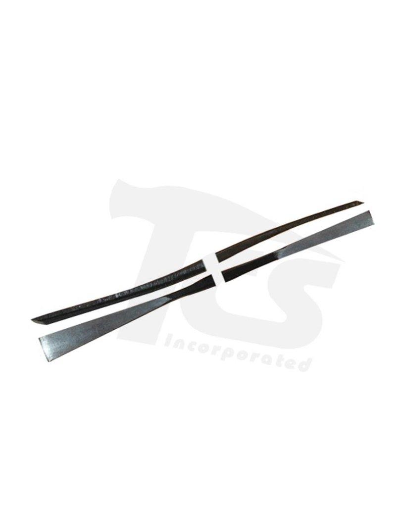 Milani Italian Steel Double Chisel Wax Tool #A053