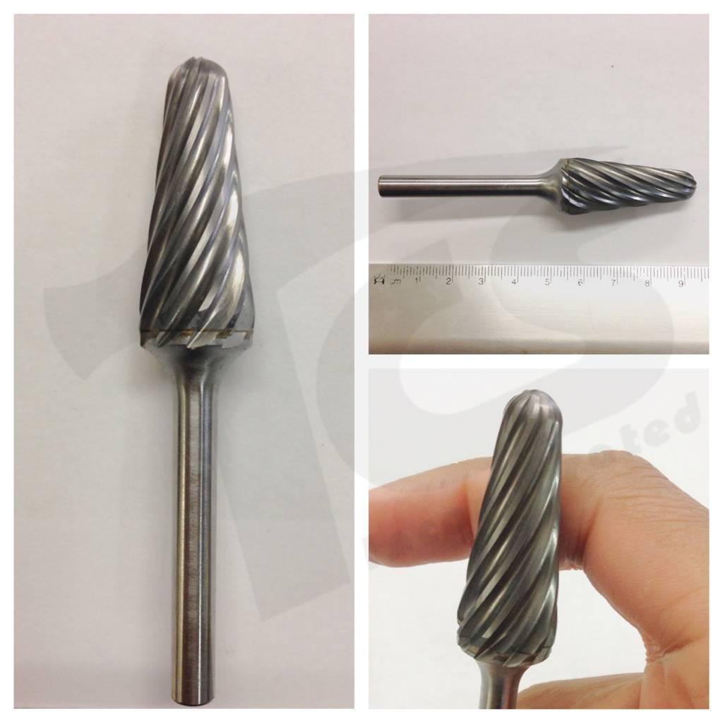 14D Taper Aluma Cut Carbide Burr SL-6