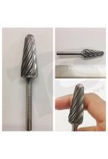 Just Sculpt 14D Taper Aluma Cut Carbide Burr SL-6