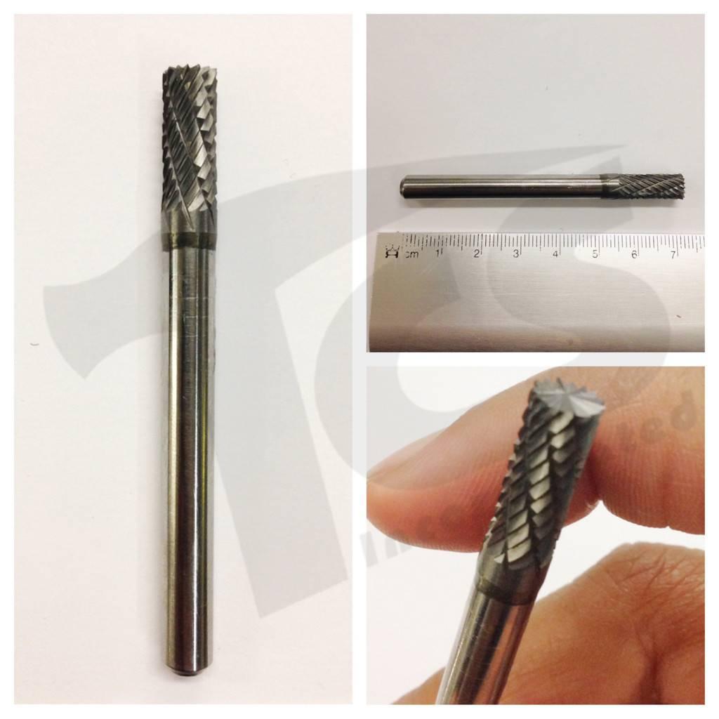 Cylinder End Cut Double Cut Carbide Burr SB-1