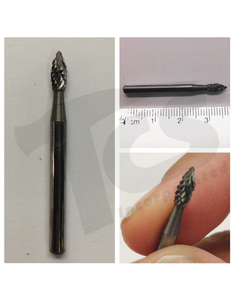 Just Sculpt Flame Double Cut Carbide Burr SH-41