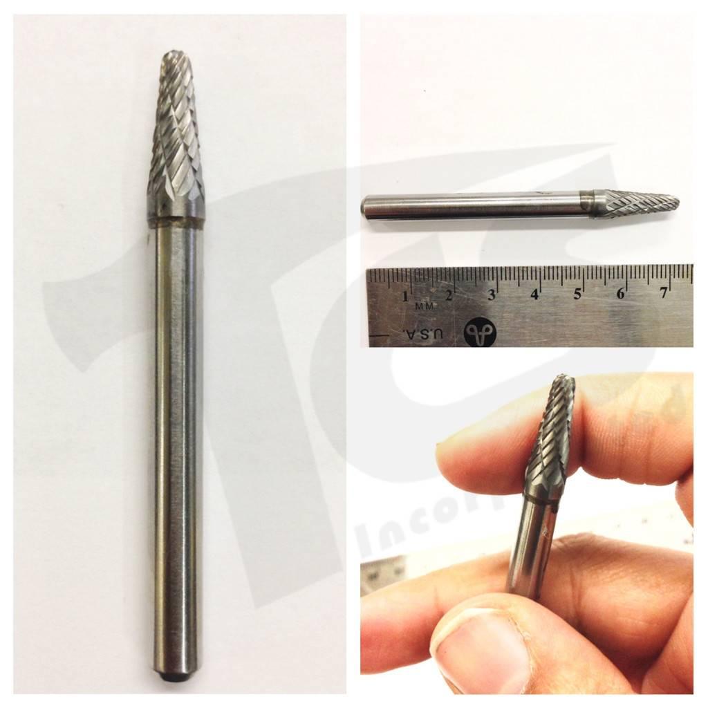 Just Sculpt 14D Taper Double Cut Carbide Burr SL-1