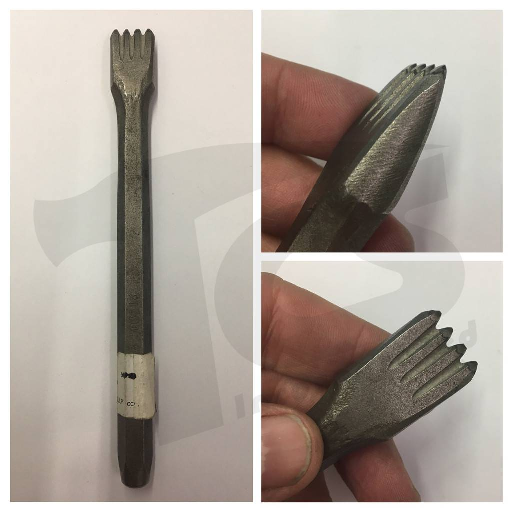 Milani Milani Carbide Hand 4 Tooth Chisel 15mm