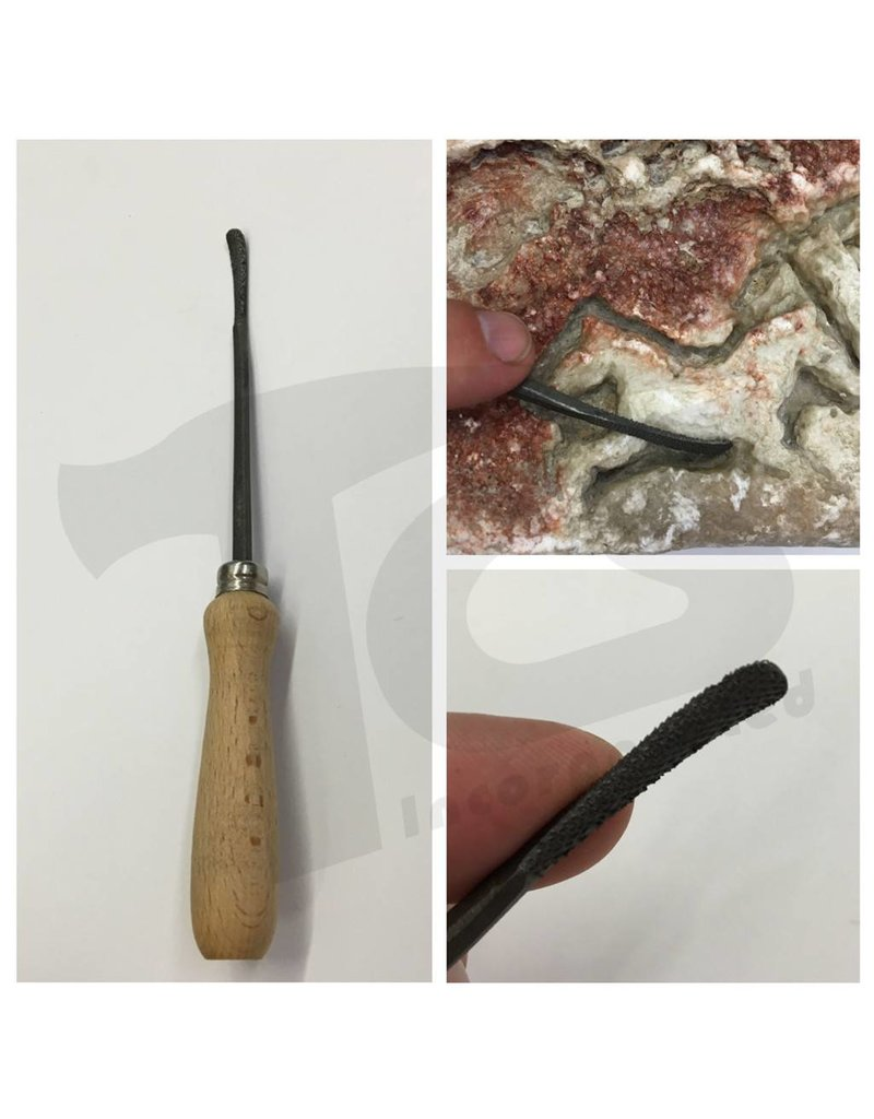 Milani Steel Handled Rasp #201 15cm