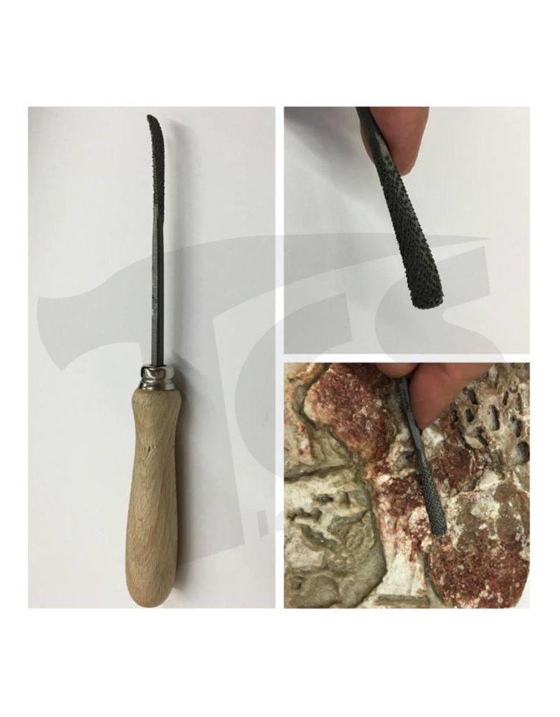 Milani Steel Handled Rasp #202 15cm
