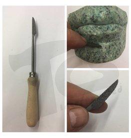 Milani Steel Handled Rasp #204 15cm