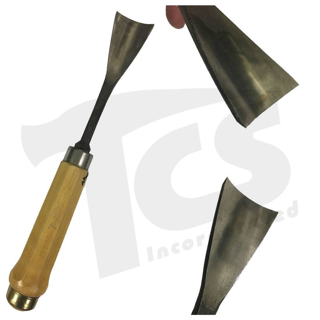#5/#54 Fish Tail Wood Gouge 1-3/4'' (44mm)