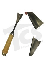 """#5/#54 Fish Tail Wood Gouge 1-7/8"""" (47mm)"""