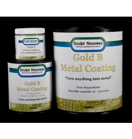 Sculpt Nouveau B Metal Coat Gold 32oz