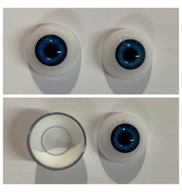 Just Sculpt Acrylic Eyes 22mm Blue (Pair)