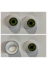 Just Sculpt Acrylic Eyes 22mm Green (Pair)