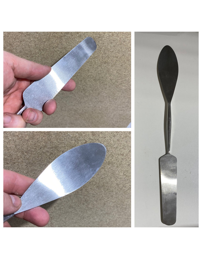 Milani Huge Stainless Steel Spatula for Plaster #105