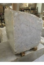 Stone 670lb Carrara Bianco blue/gray 21x21x17 #341015