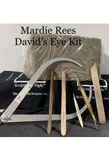 Just Sculpt Mardie Rees David Eye Sculpting Kit - Water Based