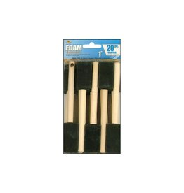 Royal & Langnickel Foam Brush Set 20pc