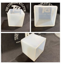Just Sculpt 3in Cube Silicone Mold
