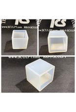 Just Sculpt 1.5in Cube Silicone Mold