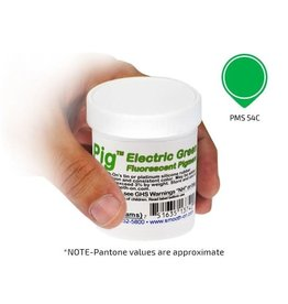 Smooth-On Silc Pig Electric Green Fluorescent 4oz Pigment