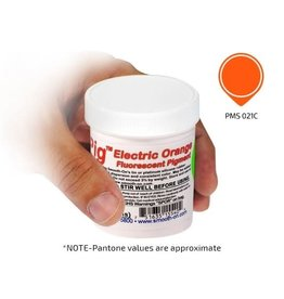 Smooth-On Silc Pig Electric Orange Fluorescent 4oz Pigment