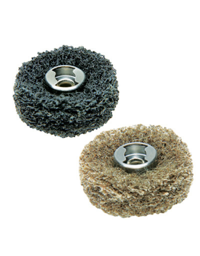 Dremel 511E EZ Lock Finishing Abrasive Buffs - 180 & 280 grit (2 Pack)