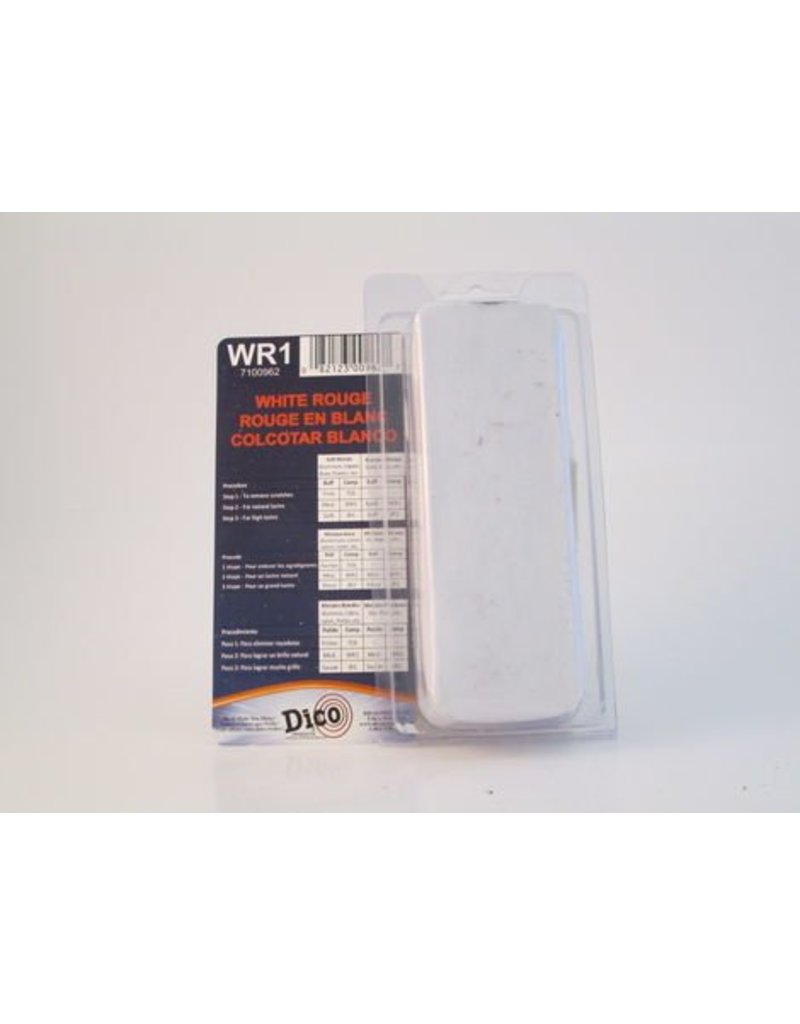 Dico White Rouge Buffing Compound Small Brick