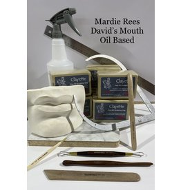 Just Sculpt Mardie Rees David Mouth Sculpting Kit - Oil Based
