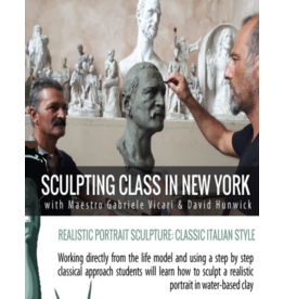 TCS Classes Portrait Sculpting in Clay : The Male Head